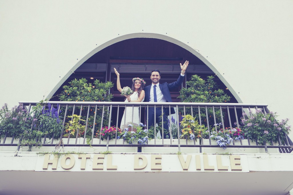 Mariés hotel de ville