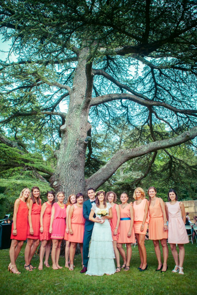 Groupe mariée filles